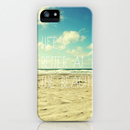 Society6 iPhone・スマホケース Society6 iPhone4/4S,5用 life's better at the beach