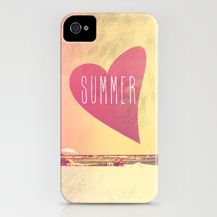 Society6 iPhone・スマホケース Society6 iPhone4/4S,5用 Summer Love by MN Art(3)