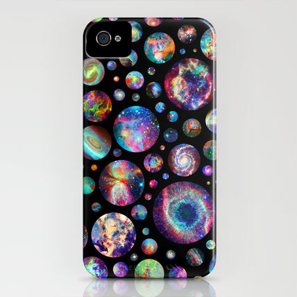 Society6 iPhone・スマホケース Society6 iPhone4/4S,5用 Bubbleverse by Starstuff(3)