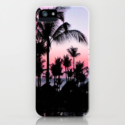 Society6 iPhone・スマホケース Society6 iPhone4/4S,5用 Pink Sunset by Laura Nappi