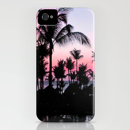 Society6 iPhone・スマホケース Society6 iPhone4/4S,5用 Pink Sunset by Laura Nappi(3)