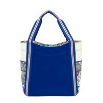 Large Colorblock Tote in Marina Paisley / 期間限定発売品!