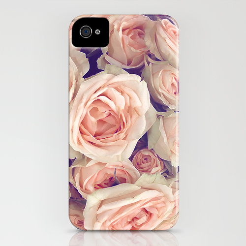 Society6 iPhone4/4S,5用 Pink Roses In A Bubble by Love2Snap