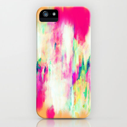 Society6 iPhone・スマホケース Society6 iPhone4/4S,5用 Electric Haze by Amy Sia