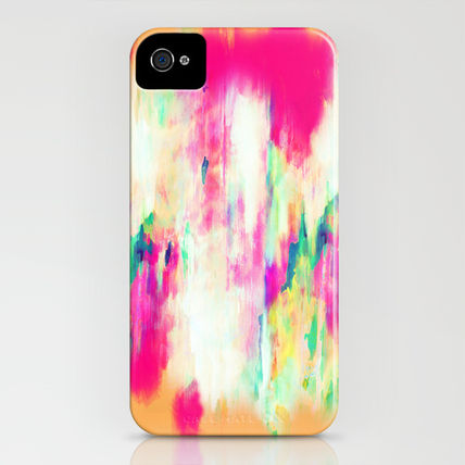 Society6 iPhone・スマホケース Society6 iPhone4/4S,5用 Electric Haze by Amy Sia(3)