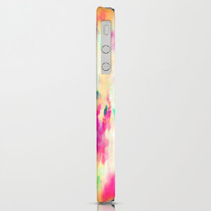 Society6 iPhone・スマホケース Society6 iPhone4/4S,5用 Electric Haze by Amy Sia(4)
