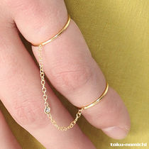 Jacquie Aiche Jewelry(ジャッキーアイチェジュエリー ) 指輪・リング 【注目ブランド】Jacquie Aiche Smooth Double Chain Ring