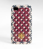 ★セール【Tory Burch】printed HARDSHELL IPHONE 4/4S CASE