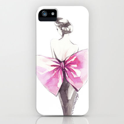 Society6 iPhone・スマホケース Society6 iPhone4/4S,5用 Elegance by Elisaveta Stoilova