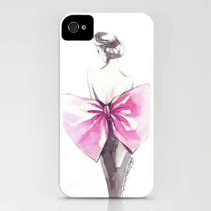 Society6 iPhone・スマホケース Society6 iPhone4/4S,5用 Elegance by Elisaveta Stoilova(3)