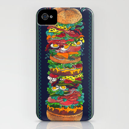 Society6 iPhone・スマホケース Society6 iPhone4/4S,5用 Grandwich by Valeriya Volkova(3)