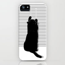 Society6 iPhone4/4S,5用 Cat Scratch by Sayahelmi