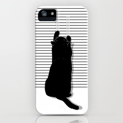 Society6 iPhone・スマホケース Society6 iPhone4/4S,5用 Cat Scratch by Sayahelmi