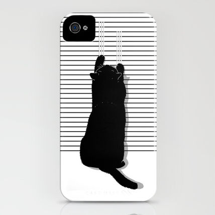 Society6 iPhone・スマホケース Society6 iPhone4/4S,5用 Cat Scratch by Sayahelmi(3)
