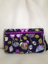 【在庫有】Vera Bradley Turn Lock in  Floral Nighingale