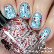 KBShimmer☆可愛いネイル(Candy Cane Crush Nail Polish)