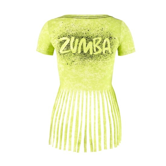 ☆ZUMBA・ズンバ☆WE Come in Pieces Slashed V-Neck ZG