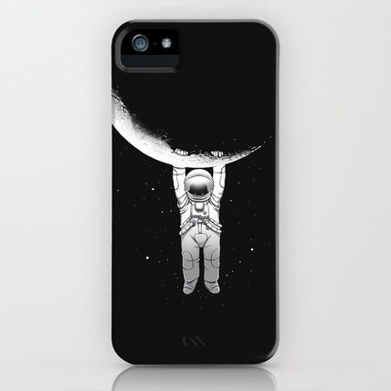 Society6 iPhone・スマホケース Society6 Help! by Carbine