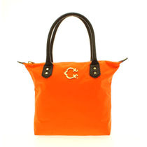 C WONDER(シーワンダー) トートバッグ C WANDER NYLON MINI EASY TOTE ORANGE