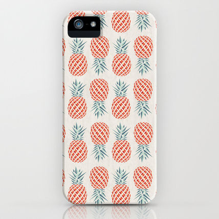 Society6 iPhone・スマホケース Society6 Pineapple by Basilique