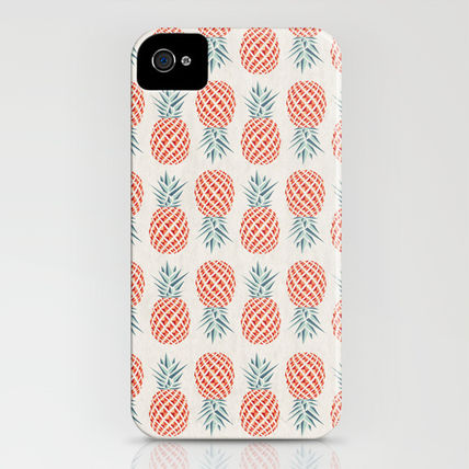 Society6 iPhone・スマホケース Society6 Pineapple by Basilique(3)