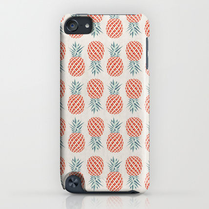 Society6 iPhone・スマホケース Society6 Pineapple by Basilique(4)