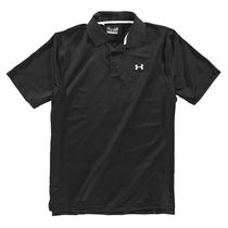 UA MEN'S UA PERFORMANCE POLO BK