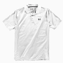 UA MEN'S UA PERFORMANCE POLO WH