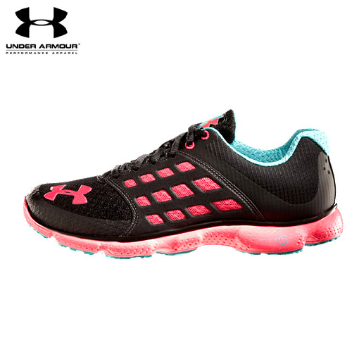 UA WOMEN'S UA MICROG  CONNECT RUNNING SHOES BK