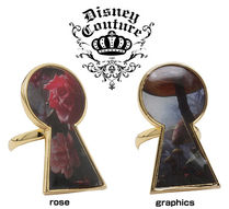 DISNEY COUTURE(ディズニークチュール) 指輪・リング (最短翌日着)Disney Couture Alice key plated ring