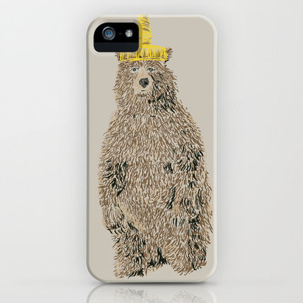 Society6 iPhone・スマホケース Society6 Honey Bear by Danielle Podeszek