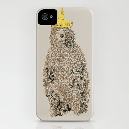 Society6 iPhone・スマホケース Society6 Honey Bear by Danielle Podeszek(3)