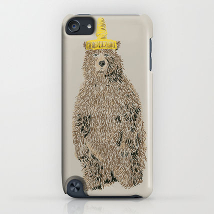 Society6 iPhone・スマホケース Society6 Honey Bear by Danielle Podeszek(4)
