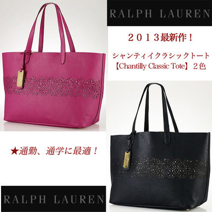 ラルフローレン【Ralph Lauren】Chantilly Classic Toteバッグ