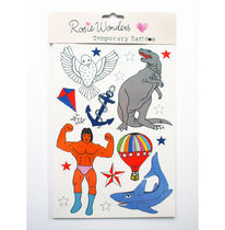 即納&国内発送◎【Rosie Wonders】 Temporary Tattoos Dinosaur