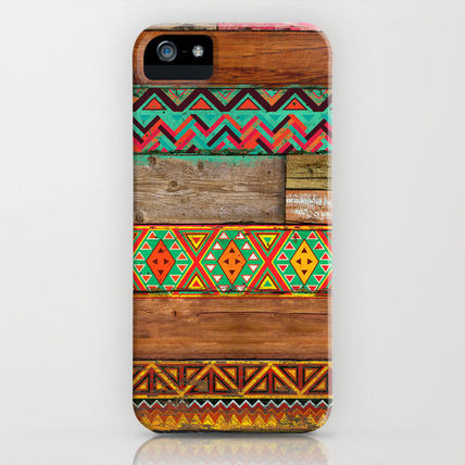 Society6 iPhone・スマホケース Society6 Indian Wood by Maximilian San
