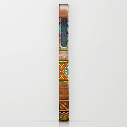 Society6 iPhone・スマホケース Society6 Indian Wood by Maximilian San(2)
