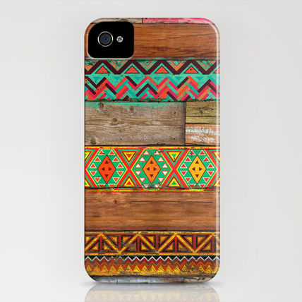 Society6 iPhone・スマホケース Society6 Indian Wood by Maximilian San(3)