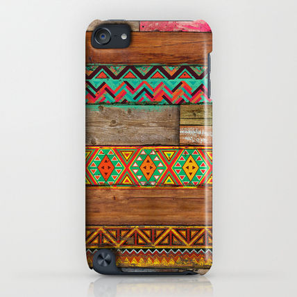 Society6 iPhone・スマホケース Society6 Indian Wood by Maximilian San(4)