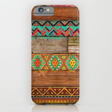 Society6 iPhone・スマホケース Society6 Indian Wood by Maximilian San(6)