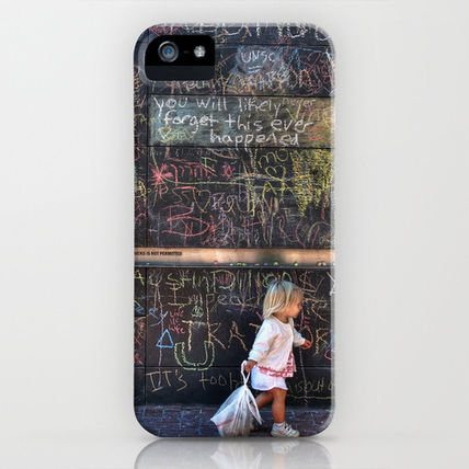 Society6 iPhone・スマホケース Society6 Taking my Chalk and Going Home by Anthony M. Davis