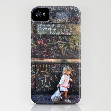Society6 iPhone・スマホケース Society6 Taking my Chalk and Going Home by Anthony M. Davis(3)