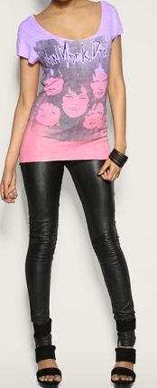"Tシャツ・カットソー House Of The Gods"" New York Doll ""Colour Fade Tee(4)"