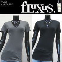 Fluxus(フルクサス) Tシャツ・カットソー (最短翌日着)Fluxus V NECK TEE NEW COLOR 05-847