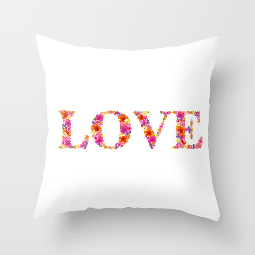 Society6★クッション★LOVE by Aimee St Hill