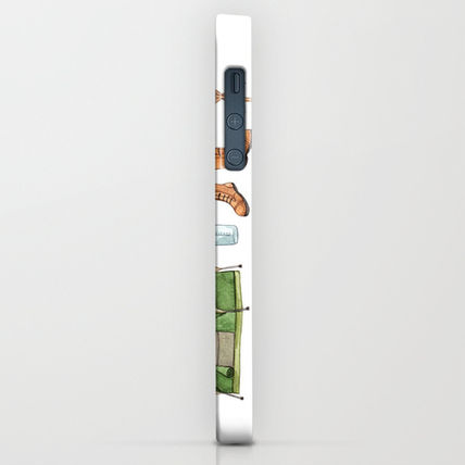 Society6 iPhone・スマホケース Society6 Let's Go Camping by Brooke Weeber(2)