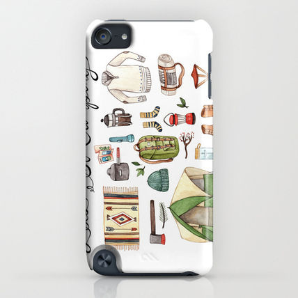 Society6 iPhone・スマホケース Society6 Let's Go Camping by Brooke Weeber(4)