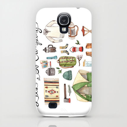 Society6 iPhone・スマホケース Society6 Let's Go Camping by Brooke Weeber(5)