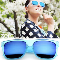 【関税送料込】FLAT TOP CANDY COLOR SUNGLASSES★4色★