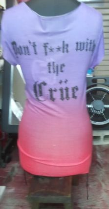 """Tシャツ・カットソー House Of The Gods"""" MOTLEY CRUE """"Colour Fade Tee(2)"""